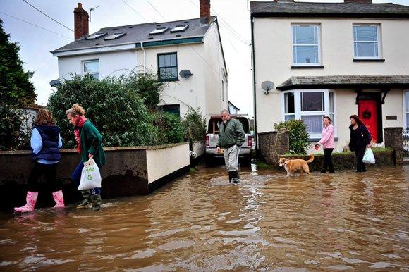 Home Flooded UK